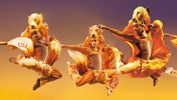 Lion King Stage Show Header